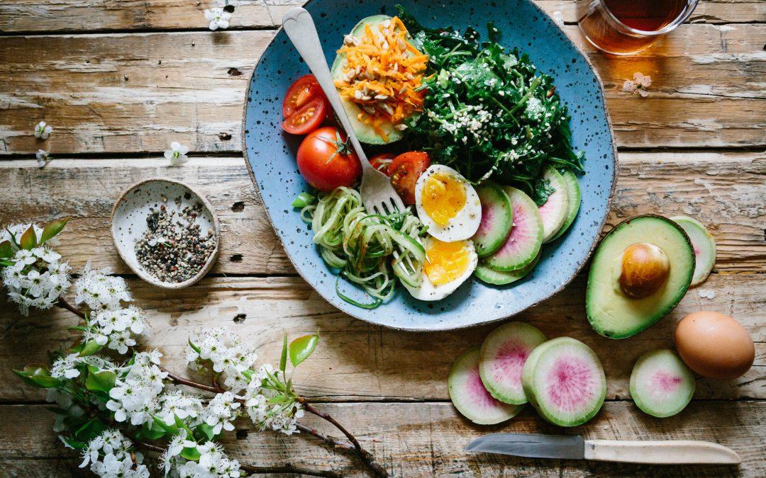 Ät dig mätt och håll formen